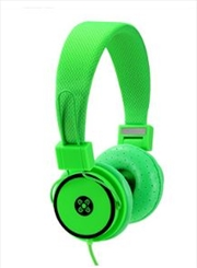 Hyper Green Headphones