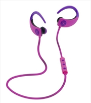 Octane Bluetooth Earphones - Pink