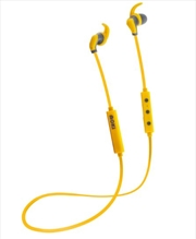 Hybrid Bluetooth Earphones - Yellow | Accessories