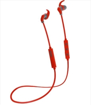 Hybrid Bluetooth Earphones - Red