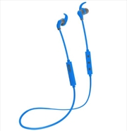 Hybrid Bluetooth Earphones - Blue