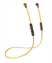 Freestyle Bluetooth Earphones - Yellow