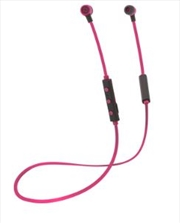 Freestyle Bluetooth Earphones - Pink