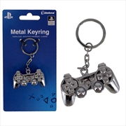 Playstation - 3D Metal Keyring