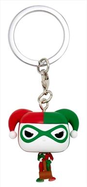 Batman - Harley Quinn (Holiday) US Exclusive Pocket Pop! Keychain [RS]