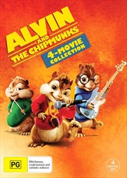 Alvin and The Chipmunks | 4 Pack