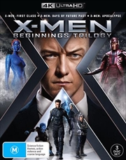 X-Men Beginnings - Trilogy | UHD
