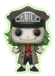 Beetlejuice - Beetlejuice with Hat Glow US Exclusive Pop! Vinyl [RS]