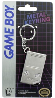 Gameboy 3D Metal Keyring | Accessories