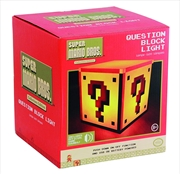 Super Mario Bros - Question Block Light | Accessories