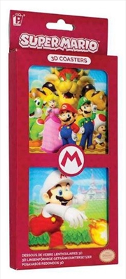 Super Mario 3D Coasters | Merchandise