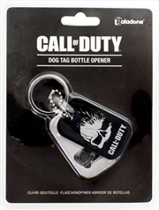 Call Of Duty - Dog Tag Bottle Opener Keyring | Merchandise