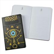 Legend Of Zelda Sheikah Slate Notebook | Merchandise