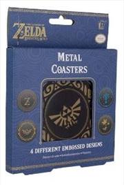 Legend Of Zelda Metal Coasters