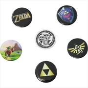 Legend of Zelda Pin Badges