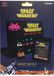 Space Invader Gadget Decals