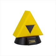 Legend Of Zelda Triforce 3D Light