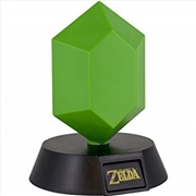 Legend Of Zelda Green Rupee 3D Light