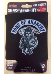 Sons of Anarchy Back Patch Can Cooler