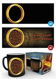 Lord Of The Rings - One Ring Heat Changing Mug | Merchandise