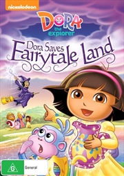 Dora The Explorer - Dora Saves Fairytale Land
