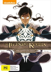 Legend Of Korra - Book 1-4 Boxset, The | DVD