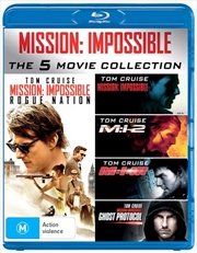 Mission Impossible 5 Pack | Blu-ray