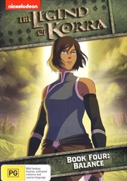 Legend Of Korra - Balance - Book 4, The | DVD