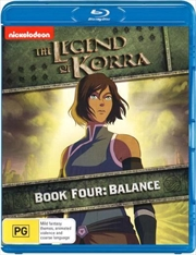 Legend Of Korra - Balance - Book 4, The | Blu-ray