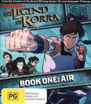 Legend Of Korra - Air - Book 1, The | Blu-ray
