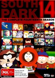 South Park - The Complete Fourteenth Season | DVD