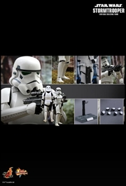 "Star Wars - Stormtrooper 12"" 1:6 Scale Action Figure 