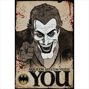 DC Comics Batman Comic Joker Needs You | Merchandise