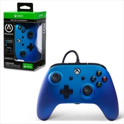 Xbox One Sapphire Fade Enhanced Wired Controller