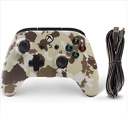 Xbox One Enhanced Wired Controller - Sandstorm Camo