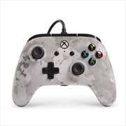 Enhanced Wired Controller for Xbox One - Winter Camo | XBox One