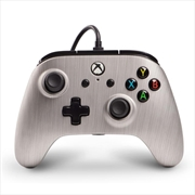 Enhanced Wired Controller for Xbox One - Brushed Aluminium