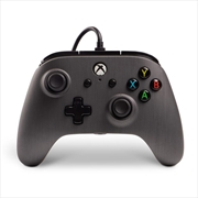 Enhanced Wired Controller for Xbox One - Brushed Gunmetal