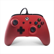 Enhanced Wired Controller for Xbox One - Crimson Fade