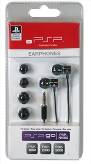 Sony Licenced Earphones - Black & Blue | PSP