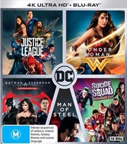 DC Super Hero - Collection | Blu-ray + UHD - 5 Pack