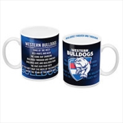 AFL Coffee Mug Team Song Western Bulldogs