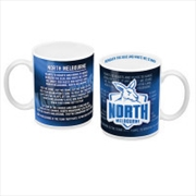 AFL Coffee Mug Team Song North Melbourne Kangaroos | Merchandise