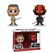 Star Wars - Darth Maul & Obi Wan Vynl. | Merchandise