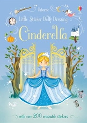 Little Sticker Dolly Dressing Fairytales Cinderella | Paperback Book
