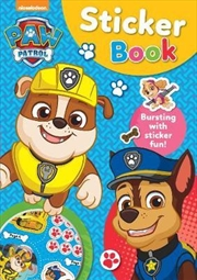 Paw Patrol Blue Sticker Book