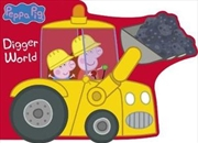 Peppa Pig: Digger World | Hardback Book