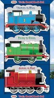 Train Board Book Set | Hardback Book