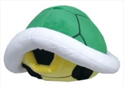Super Mario Bros Plush Koopa Shell Pillow Green