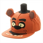 Five Nights at Freddy's Big Face Plush Snapback Cap